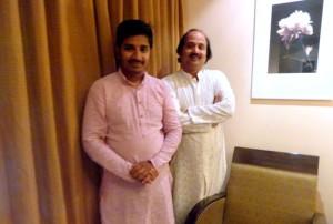 With Pt. Ronu Majumdar