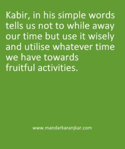 kabir on death
